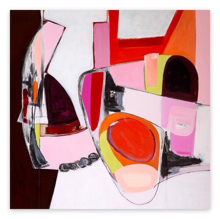 Irene Nelson  Abstract Painting - Syncopation
