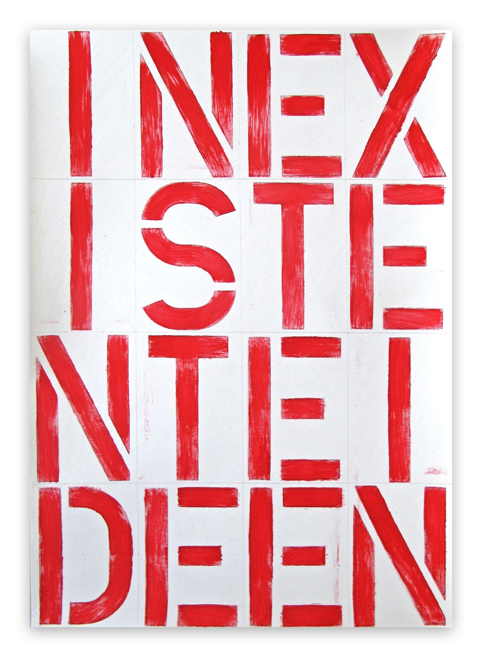 BP37, INEXISTENTEIDEEN, 2019 (Abstract painting)