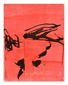 Frankly Scarlet 5 (Abstract painting)