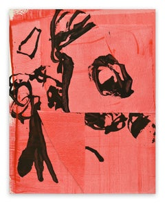 Frankly Scarlet 3 (Abstract painting)