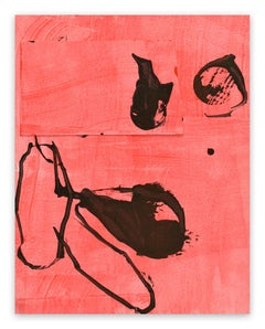 Frankly Scarlet 2 (Abstract painting)