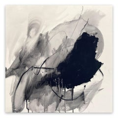 Monochrome abstraction Part 1 (Abstract painting)