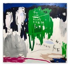 FarCamOarWhatShamFore (Abstract painting)