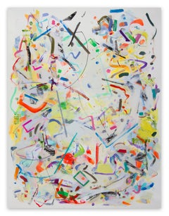 Angular Improvisation (Abstract Expressionism painting)