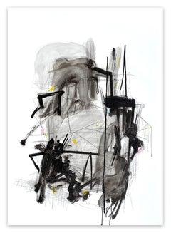 Oscillating resonance (Abstract painting)