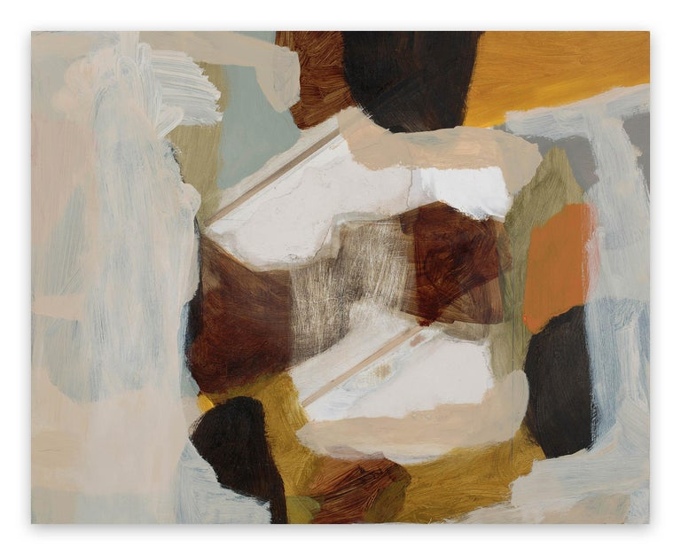 Michael Cusack Abstract Painting - Erased Painting