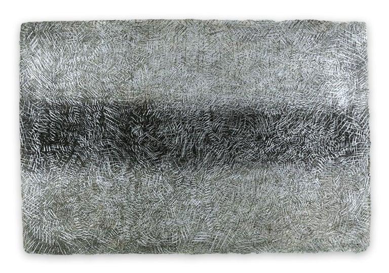 Gudrun Mertes-Frady Abstract Drawing - Visible/Invisible