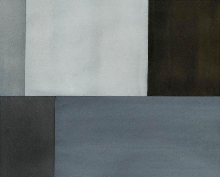 Test Pattern 2 (Grey Study) - Abstract Art by Tom McGlynn