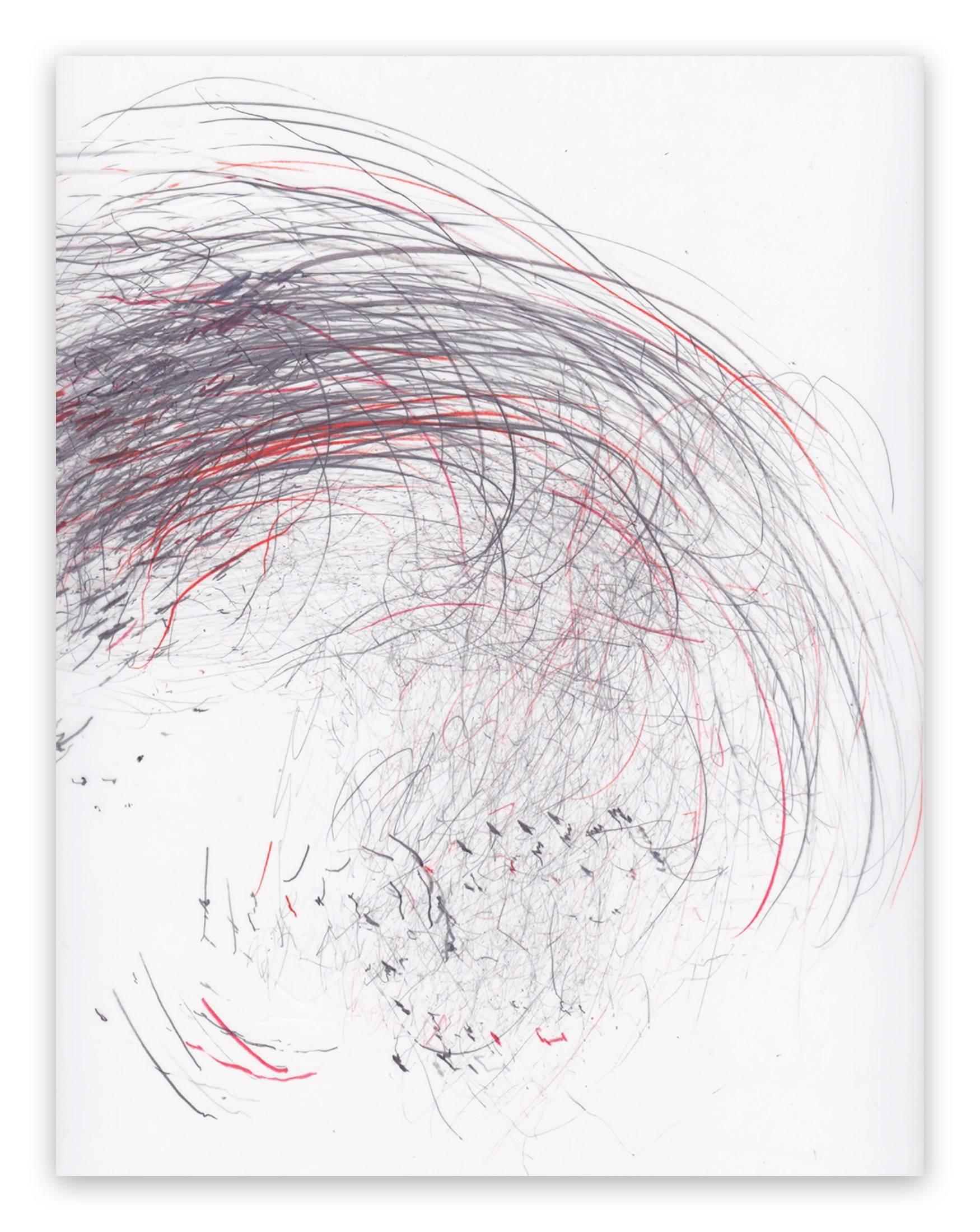 Screech of ice series 41 (Abstract drawing)