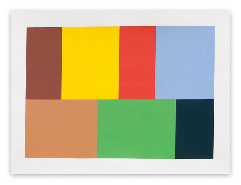 Tom McGlynn Abstract Drawing - Test Pattern 10 (Venice)