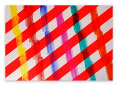 Synthetic Resin Abstract Drawings and Watercolours