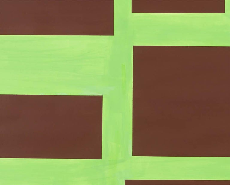 Survey 4 - Abstract Painting by Tom McGlynn