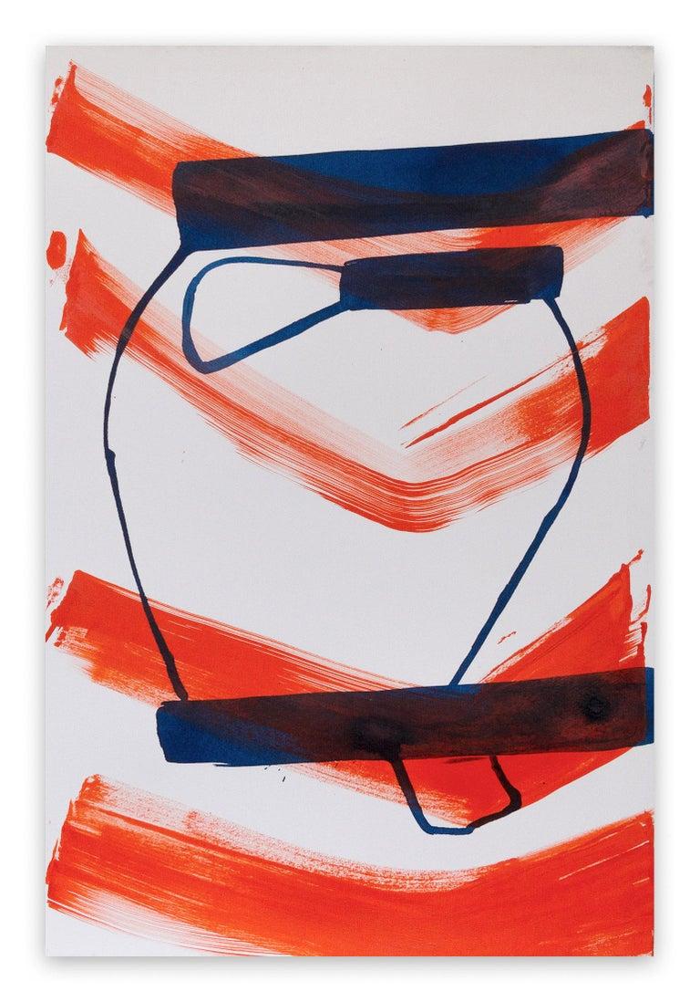 Jill Moser Abstract Painting - 4.29 15