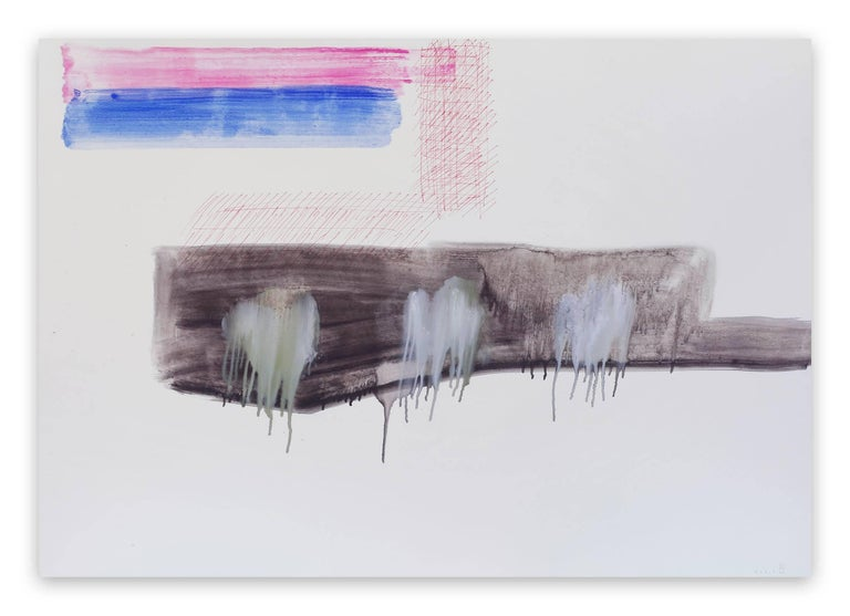 Claude Tétot Abstract Drawing - Untitled 8