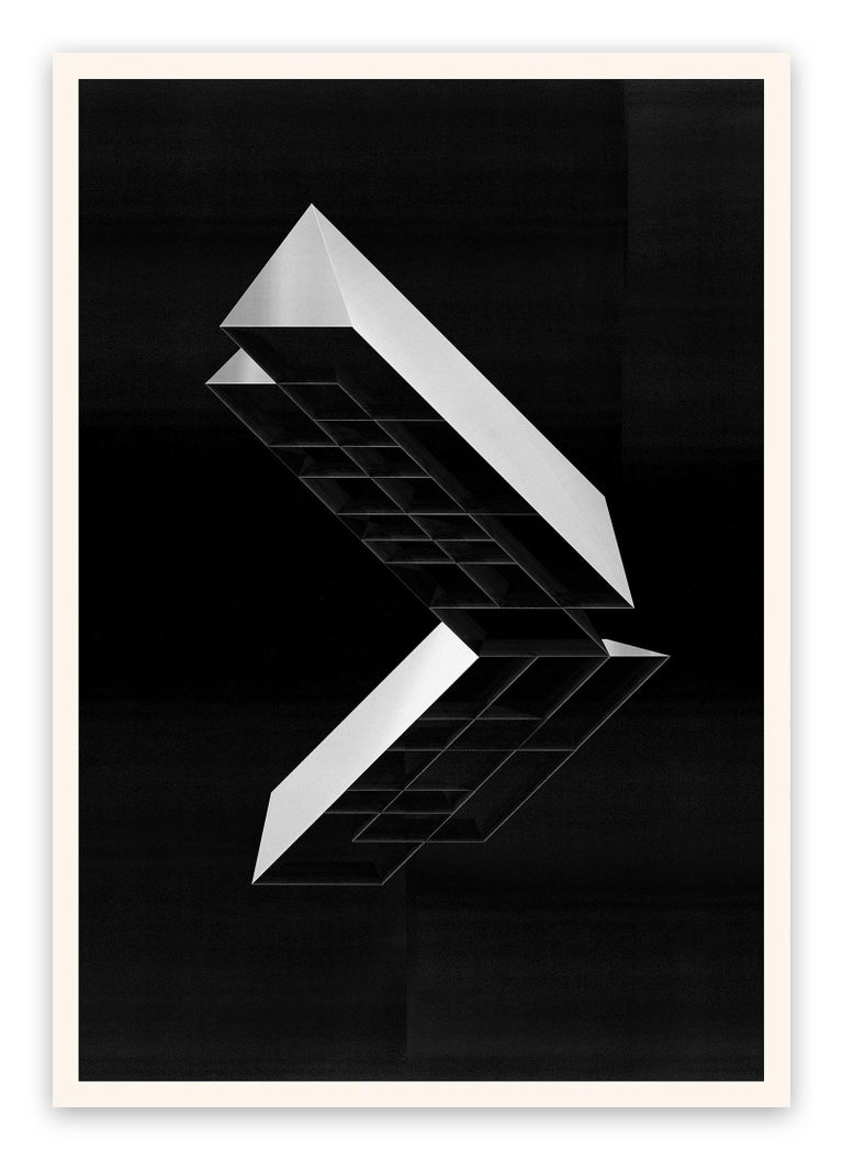 Jesús Perea Abstract Print - M408