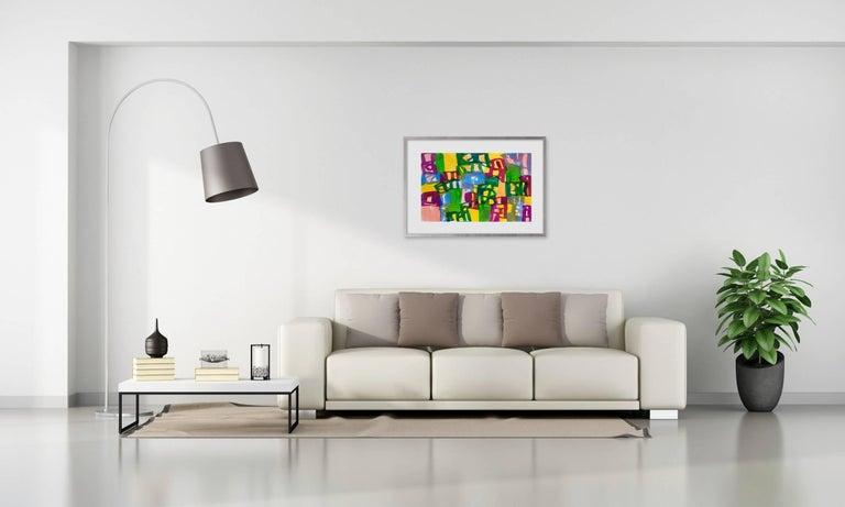Ambassade 47 - Painting by Melissa Meyer