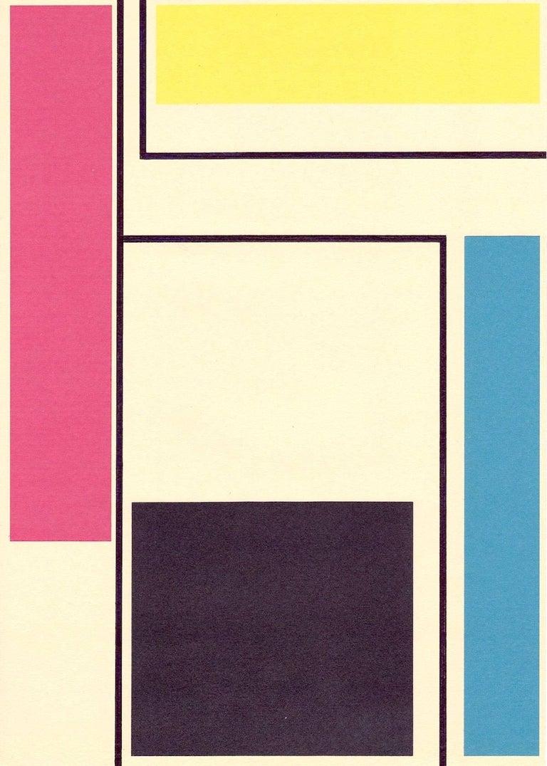 Richard Caldicott Abstract Drawing - Untitled, 2014 (Id. 382)