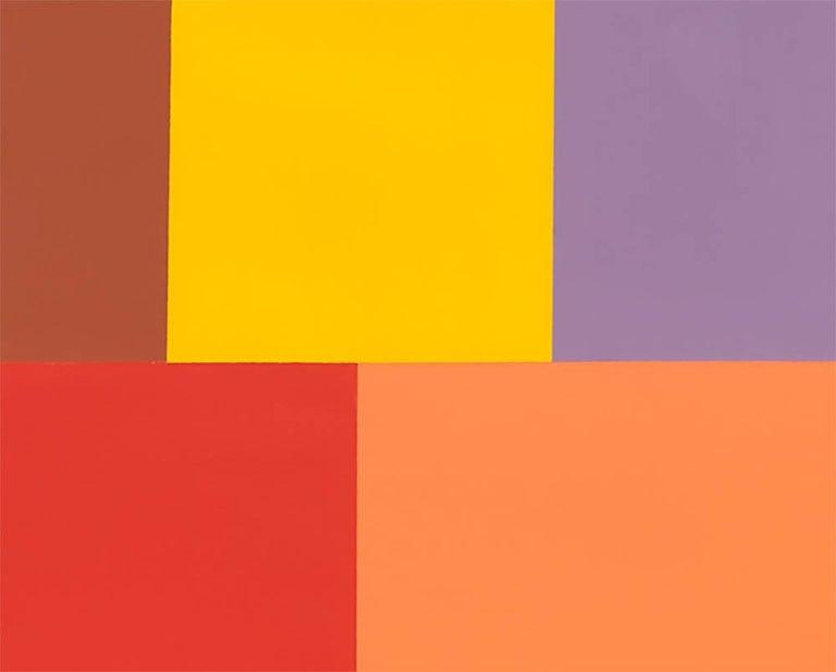 Test Pattern 7 (Siena) - Abstract Art by Tom McGlynn