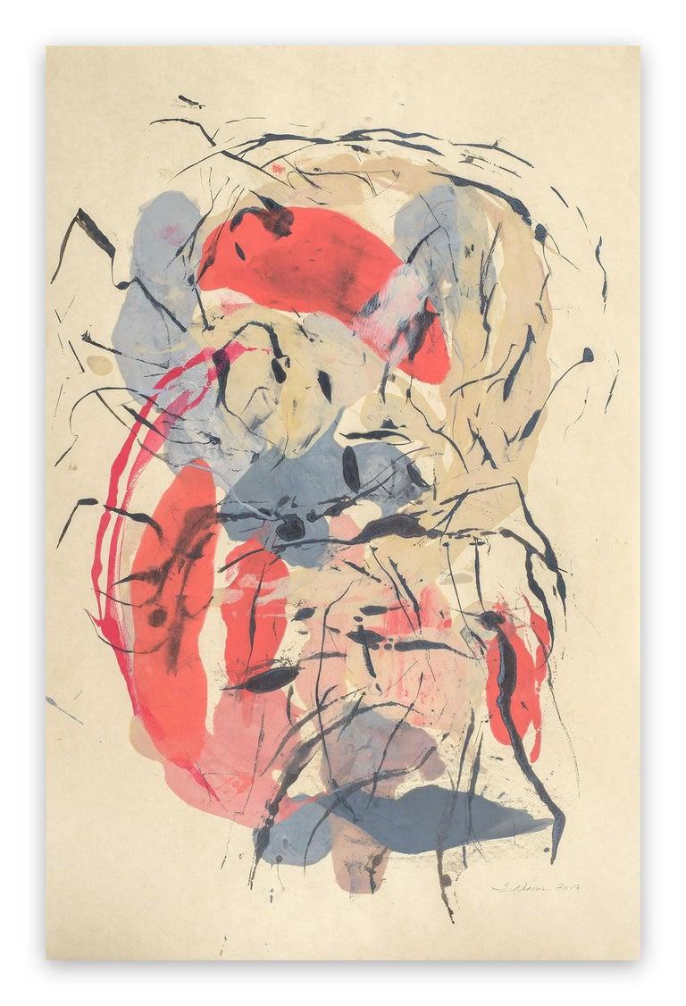 Tracey Adams Abstract Painting - Guna TT
