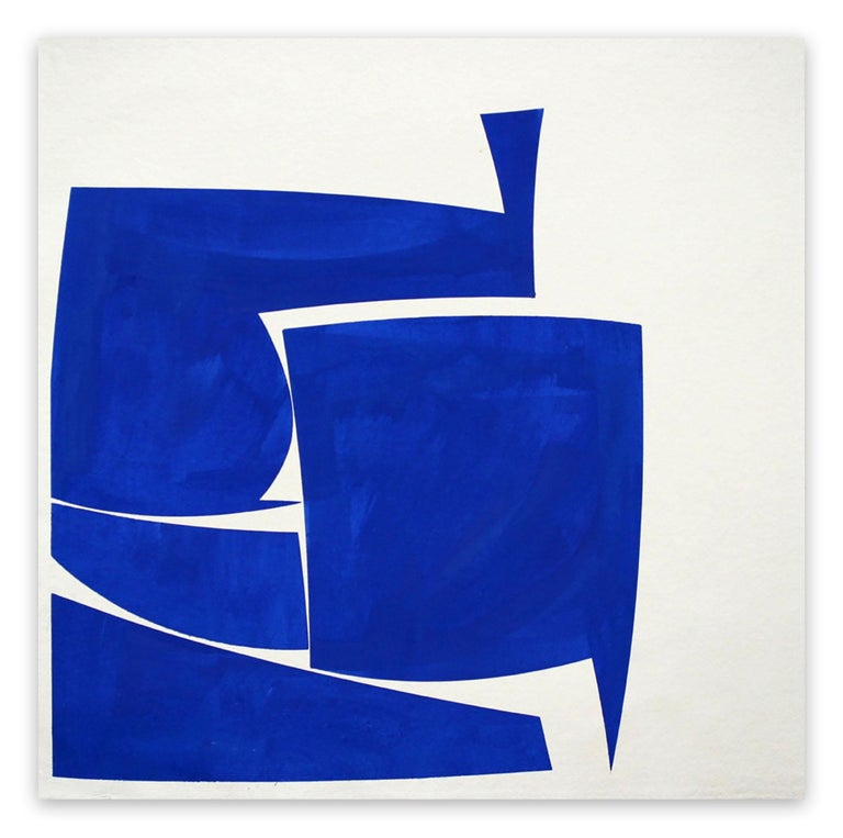 Joanne Freeman Abstract Drawing - Covers 24 Blue A Summer