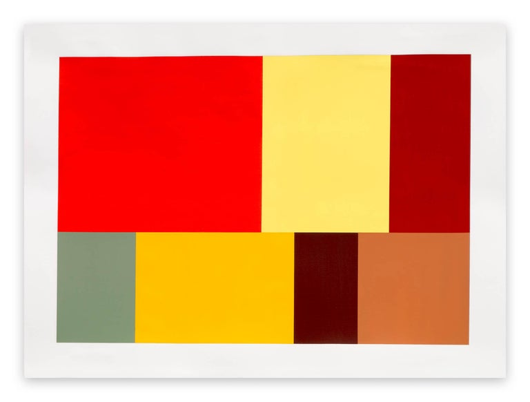 Tom McGlynn Abstract Painting - Test Pattern 8 (Naples)