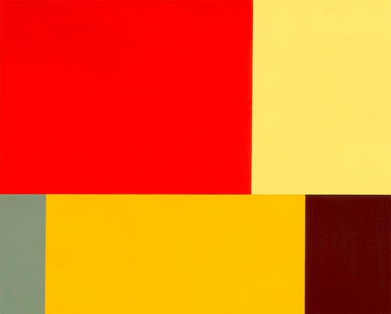 Test Pattern 8 (Naples) - Abstract Painting by Tom McGlynn