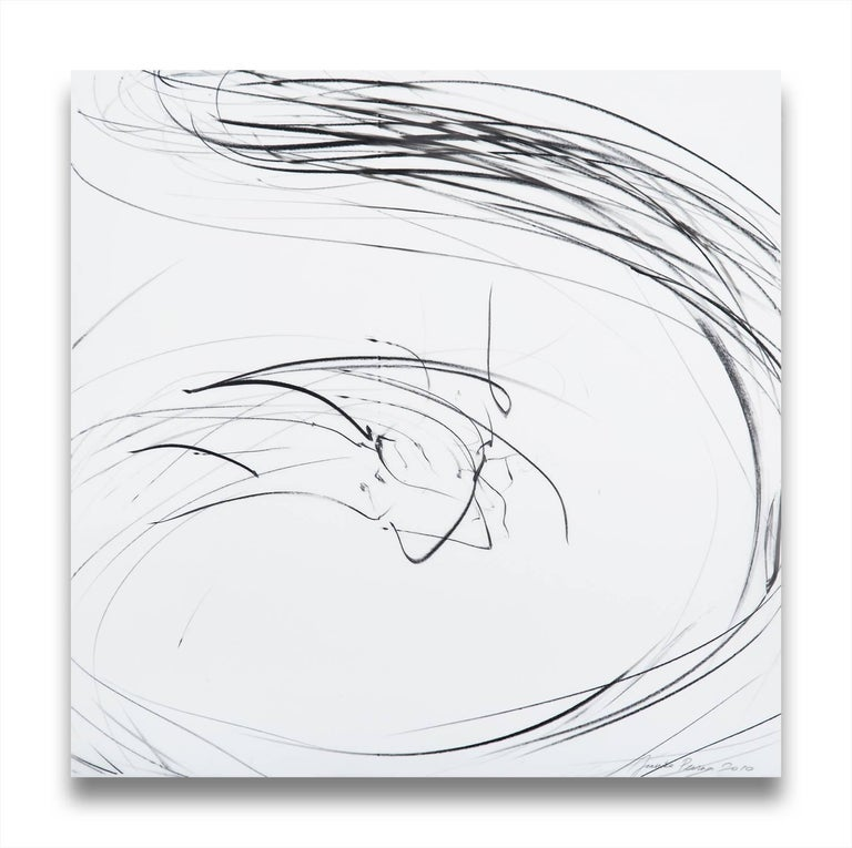 Jaanika Peerna Abstract Drawing - Small maelstrom (Ref 855)