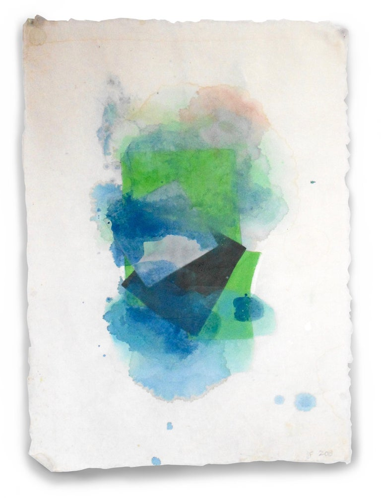 Jean Feinberg Abstract Painting - Blur