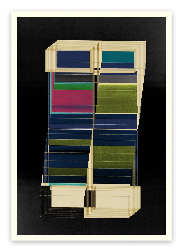 Jesús Perea Abstract Print - M323