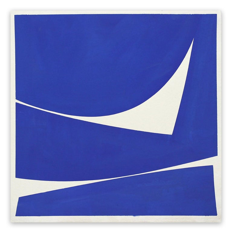 Joanne Freeman Abstract Drawing - Covers 24 Blue C Summer