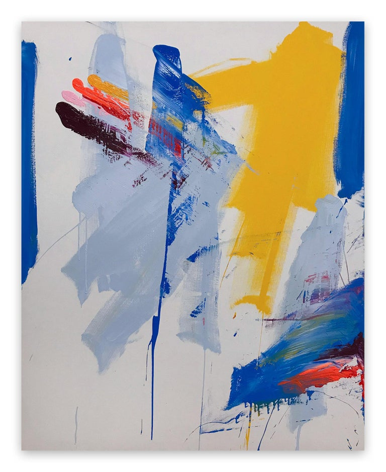 Tommaso Fattovich Abstract Painting - Clockwork