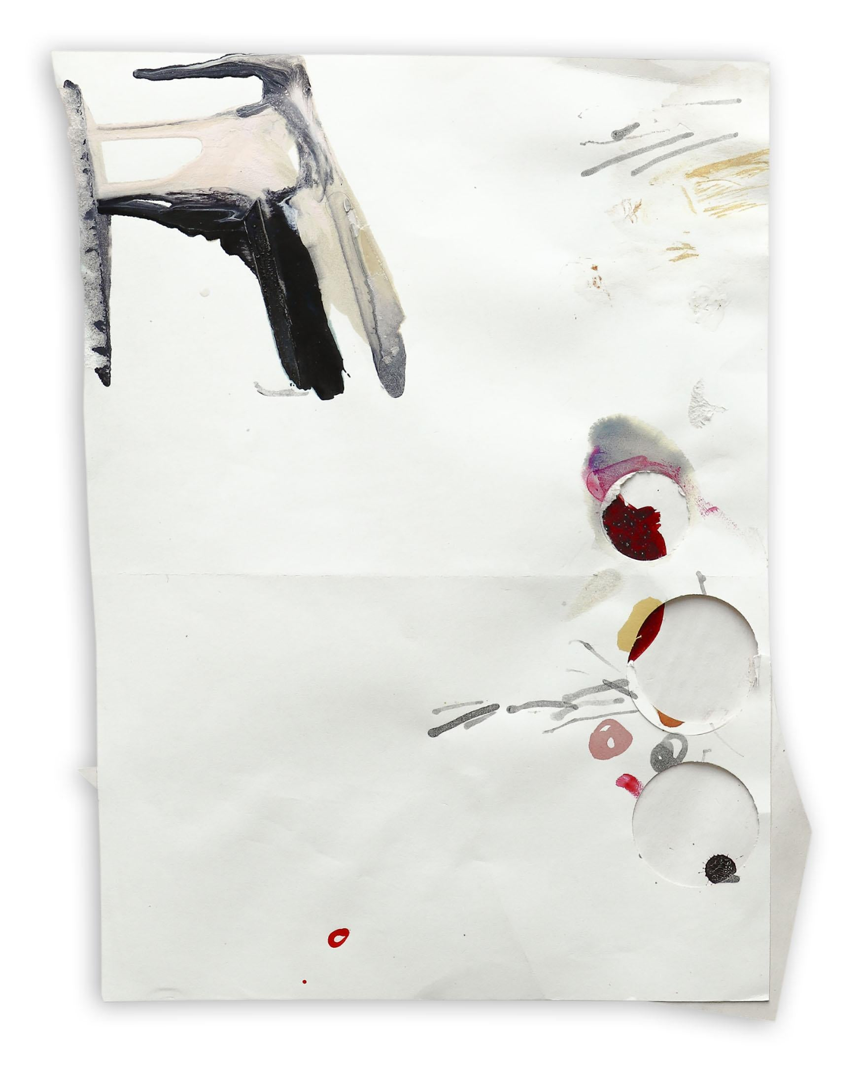 K2005 (Abstract work on paper)