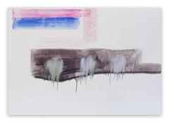 Acrylic Abstract Drawings and Watercolors