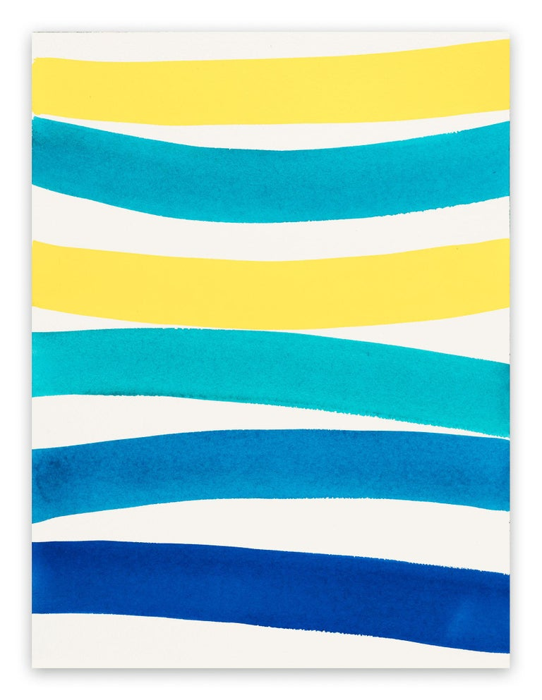Kim Uchiyama Abstract Painting - Wave