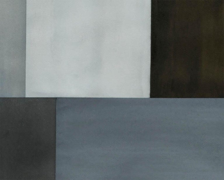 Test Pattern 2 (Grey Study) - Abstract Painting by Tom McGlynn