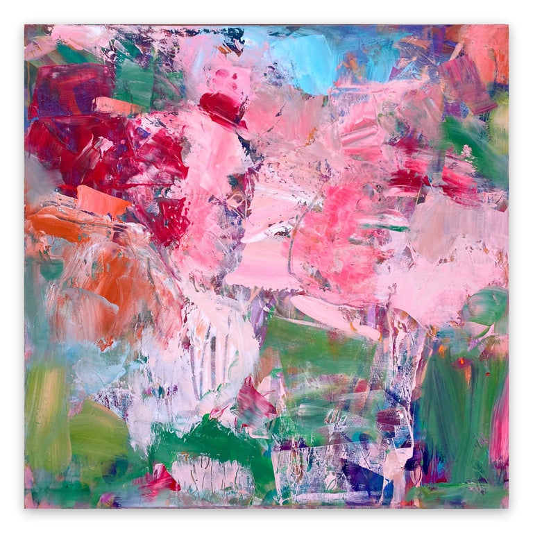 Michelle Marra Abstract Painting - Semi Precious