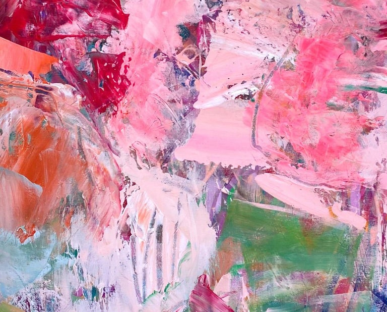 Semi Precious - Abstract Painting by Michelle Marra
