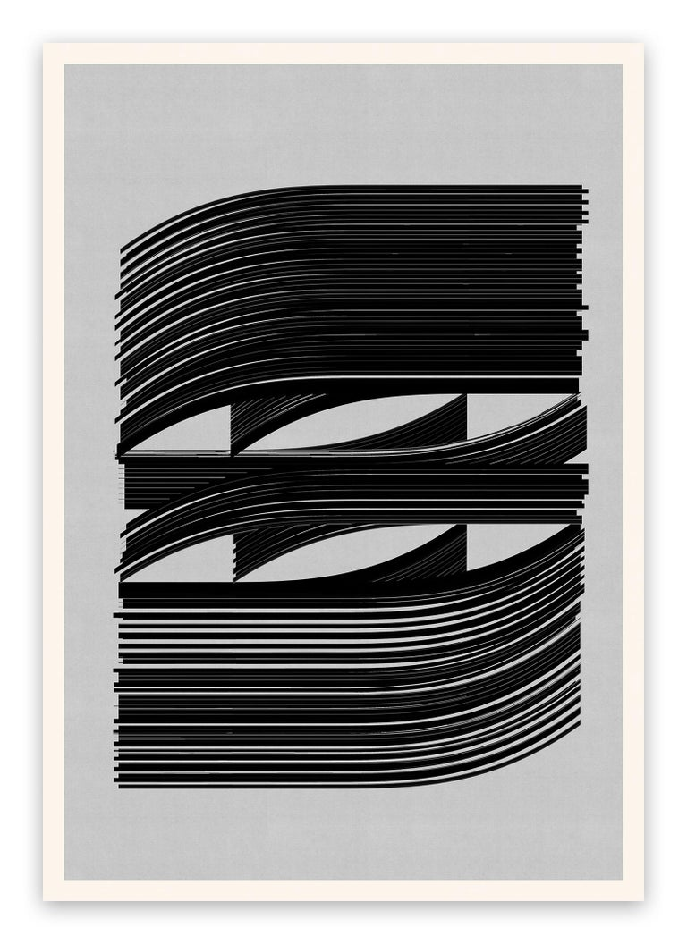Jesús Perea	 Abstract Print - M436