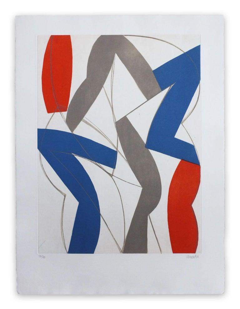 Alain Clément  Abstract Print - 14AV11G-2014