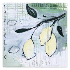 Limoncello (Abstract painting)