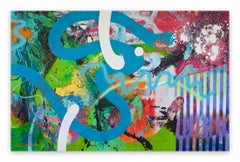 Empowered Code (Abstract painting)