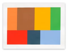 Test Pattern 9 (Cimmaron) (Abstract painting)