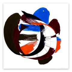 Jazz Cubano #53: Percussion Drawing (Abstract painting)