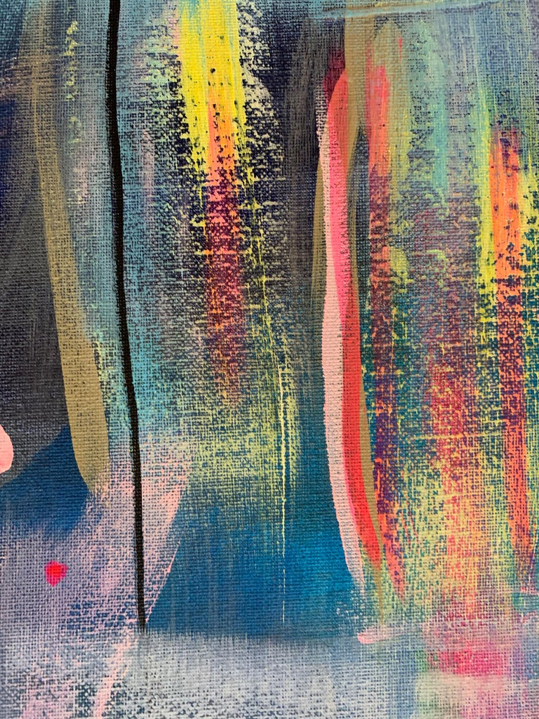 Interdependencies (Abstract painting) For Sale 2