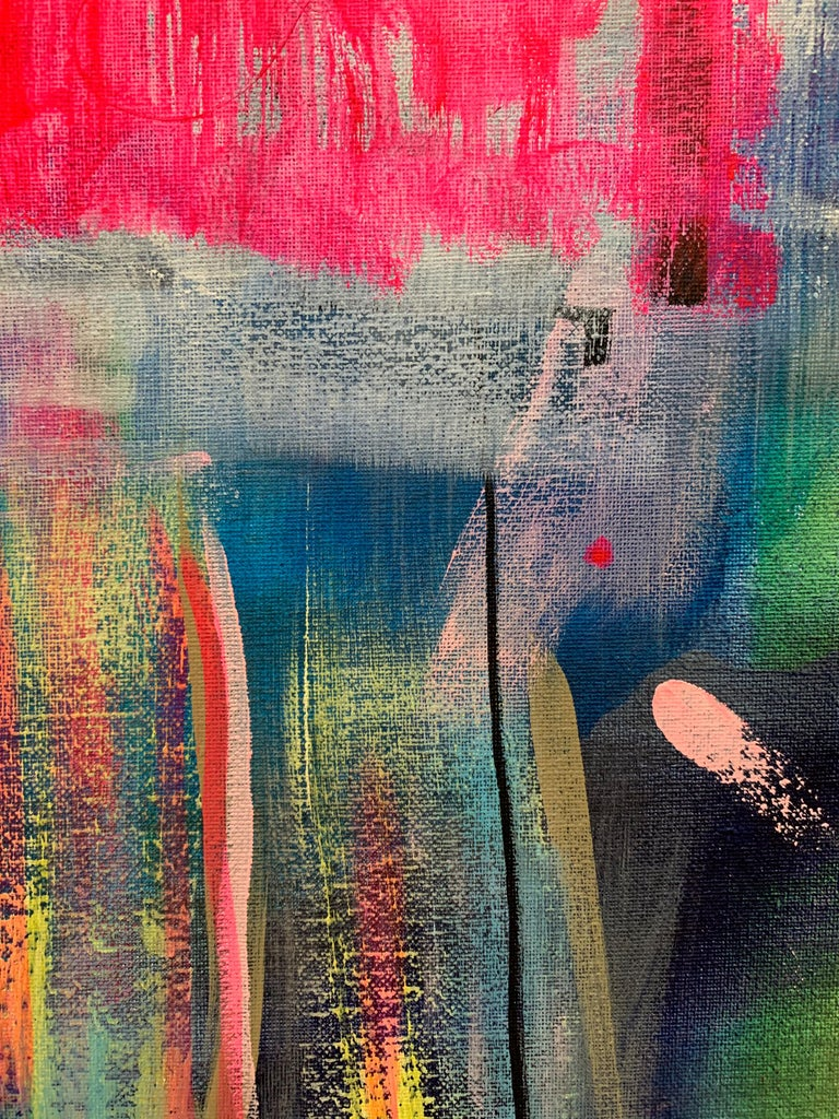Interdependencies (Abstract painting) For Sale 3