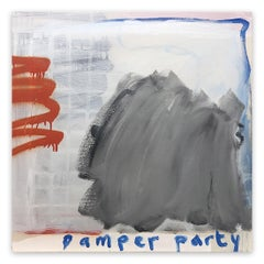 Pamper Party (Abstract painting)