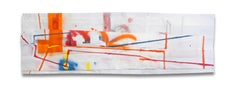 L.I.C. (Orange) (Abstract painting)