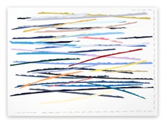 Lines_The moments that come once in a while (Abstract painting)