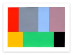 Test Pattern 11 (Kelly) (Abstract painting)