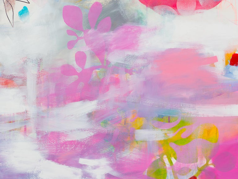 Botanical Painting 2 (Abstract painting) For Sale 1